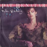 Click here for more info about 'Pat Benatar - We Belong'