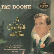 Click here for more info about 'Pat Boone - A Closer Walk With Thee EP - 9.62'