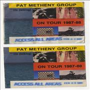 Click here for more info about 'Pat Metheny - Still Life [Talking] - On Tour 1987-88'