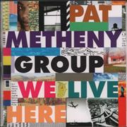 Click here for more info about 'Pat Metheny - We Live Here'