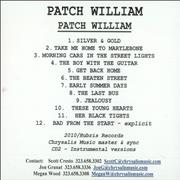 Click here for more info about 'Patch William - Patch William'