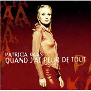 Click here for more info about 'Patricia Kaas - Quand J'ai Peur De Tout'