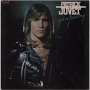 Patrick Juvet Got A Feeling UK vinyl LP