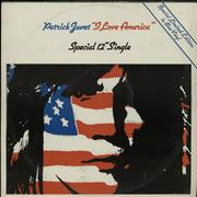 Click here for more info about 'Patrick Juvet - I Love America - Blue Vinyl - EX'