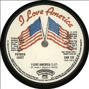 "Patrick Juvet I Love America - Solid UK 7"" vinyl"