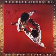 Click here for more info about 'Patrick Moraz & Bill Bruford - Flags - Autographed'