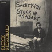 Click here for more info about 'Patrik Fitzgerald - Safety-Pin Stuck In My Heart EP'