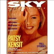 Click here for more info about 'Patsy Kensit - Sky - July 1989'