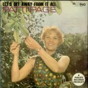 Click here for more info about 'Patti Page - Let's Get Away From It All'