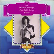 Click here for more info about 'Patti Smith - Because The Night - Picture Sleeve'