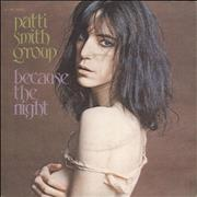 Click here for more info about 'Patti Smith - Because The Night'