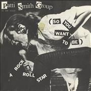 Click here for more info about 'Patti Smith - (So You Want To Be) A Rock & Roll Star'