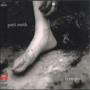 Click here for more info about 'Patti Smith - Trampin''