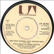 Click here for more info about 'Paul Anka - One Man Woman/One Woman Man'