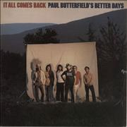 Click here for more info about 'Paul Butterfield - It All Comes Back'
