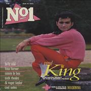 Click here for more info about 'Paul King - No 1 - August 1985 & May 1986'