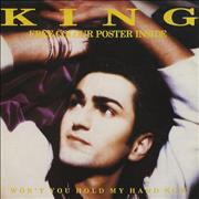 Click here for more info about 'Paul King - Won't You Hold My Hand Now - Poster Sleeve'