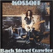 Paul Kossoff Back Street Crawler UK vinyl LP