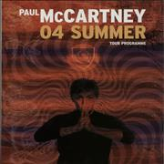 Click here for more info about 'Paul McCartney and Wings - 04 Summer Tour + Set List'