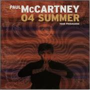Click here for more info about 'Paul McCartney and Wings - 04 Summer Tour'