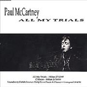 Click here for more info about 'Paul McCartney and Wings - All My Trials - 2nd'