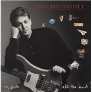 Paul McCartney and Wings All The Best - Autographed UK 2-LP vinyl set