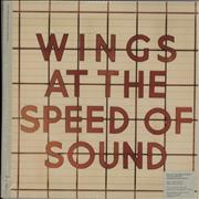 Paul McCartney and Wings At The Speed Of Sound - 180grm - Sealed UK 2-LP vinyl set
