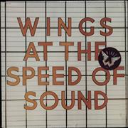 Paul McCartney and Wings At The Speed Of Sound - stickered shrink USA vinyl LP