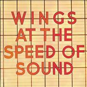 Paul McCartney and Wings At The Speed Of Sound UK vinyl LP