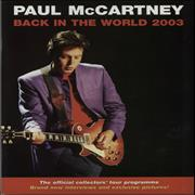Click here for more info about 'Paul McCartney and Wings - Back In The World'