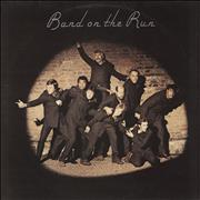Click here for more info about 'Paul McCartney and Wings - Band On The Run - 1st + Poster - EX'