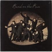 Paul McCartney and Wings Band On The Run - 1st - VG+ UK vinyl LP