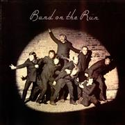 Paul McCartney and Wings Band On The Run - 2nd UK vinyl LP