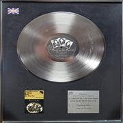 Click here for more info about 'Paul McCartney and Wings - Band On The Run - BPI Certified Platinum Award'