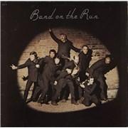 Paul McCartney and Wings Band On The Run - Yellow Vinyl - EX France vinyl LP