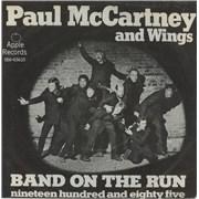 "Paul McCartney and Wings Band On The Run Denmark 7"" vinyl"