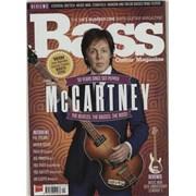 Paul McCartney and Wings Bass Guitar Magazine UK magazine