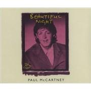 Paul McCartney and Wings Beautiful Night UK CD single
