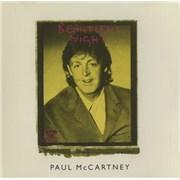Paul McCartney and Wings Beautiful Night UK 2-CD single set