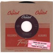 "Paul McCartney and Wings Biker Like An Icon - Jukebox + Tab USA 7"" vinyl"