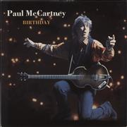 Click here for more info about 'Paul McCartney and Wings - Birthday - EX'