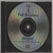 Click here for more info about 'Paul McCartney and Wings - Birthday'