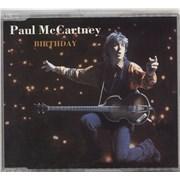 Paul McCartney and Wings Birthday UK CD single