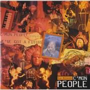 """Paul McCartney and Wings C'mon People UK 7"""" vinyl"""