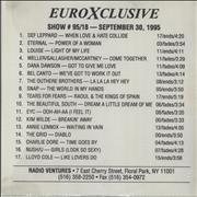 Click here for more info about 'Paul McCartney and Wings - EuroXclusive 95/18'