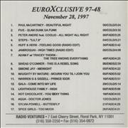 Click here for more info about 'Paul McCartney and Wings - EuroXclusive 97-48'