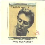Paul McCartney and Wings Flaming Pie UK CD album