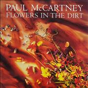 Paul McCartney and Wings Flowers In The Dirt - Autographed UK vinyl LP