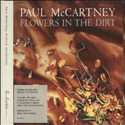 Paul McCartney and Wings Flowers In The Dirt - Special Edition UK 2-CD album set