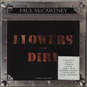 Paul McCartney and Wings Flowers In The Dirt - World Tour Pack UK vinyl LP